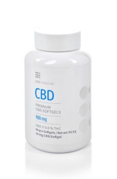 CBD kapszula USA Medical - CBD kapszula - 900 mg