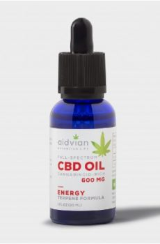 Aidvian Full spectrum CBD olaj - Energy 600 mg